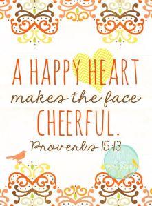 a happy heart.